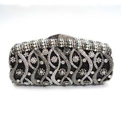 classic fashion crystal clutch bag, luxury evening clutch , stunning~~