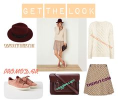 """""""Get the look."""" by lucieprettyliars ❤ liked on Polyvore featuring The Cambridge Satchel Company, Sans Souci, Joseph and Paul & Joe Sister"""