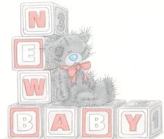 Tatty teddy gift for new baby