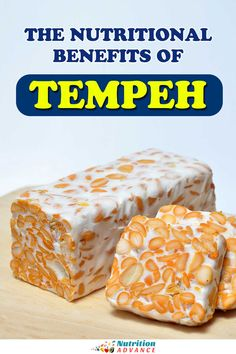 Tempeh is a popular Indonesian food, but what nutritional benefits does it have? Here's a complete guide. #tempeh #fermented #soy #nutrition Nutrition Articles, Nutrition Information, Diet And Nutrition, Snack Recipes, Healthy Recipes, Snacks, Soy Allergy, Lower Ldl Cholesterol, Good Sources Of Protein