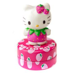 38fd139fb595 Dizzy PinkHello Kitty Fashion · Hello Kitty Strawberry Lip Gloss Topper -  This very cute Hello Kitty Sparkly Strawberry Glossy Lip