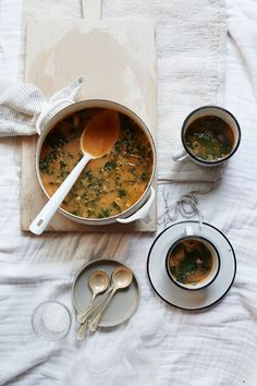 Kendra Smoot's Kale and White Bean Soup | Lonny November 2014