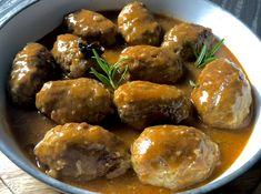Leniwe zrazy - Blog z apetytem Chicken Alfredo Lasagna, Polish Recipes, Food Plating, I Love Food, Meatloaf, Ground Beef, Dinner Recipes, Yummy Recipes, Dinner Ideas