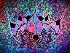 lotus batik