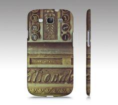 Vintage Phone Case Old Cash Register Typewriter Keys  iPhone, Samsung Galaxy by Studio Yuki
