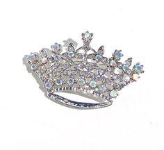 vintage tiara pin.