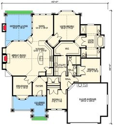 Front or Side Garage - You Choose - 23375JD   1st Floor Master Suite, Bungalow, CAD Available, Craftsman, Den-Office-Library-Study, MBR Sitting Area, Northwest, PDF, Photo Gallery   Architectural Designs