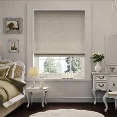 Pure Linen Roman Blind from Blinds 2go