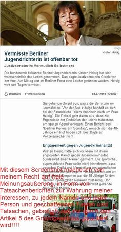 38259at38259: Kirsten Heisig----Tätersuizid?????