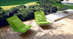 Paola Lenti Sand Chairs - Very Nice Modern Outdoor Lounge Furniture, Outdoor Armchair, Outdoor Cushions, Outdoor Seating, Outdoor Dining, Outdoor Spaces, Outdoor Chairs, Bench Furniture, Garden Furniture