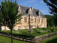 The Château du Grand Jardin in Joinville, the seat of the Counts and Dukes of Guise.
