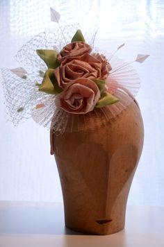 Margeaux headpiece BY MICHAELA TEMPERLI #millinery #hats #HatAcademy