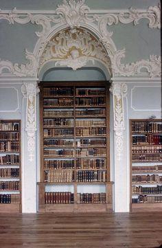 Breath taking German library