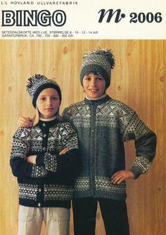 Setesdalskofte 2006 Norwegian Knitting, Icelandic Sweaters, Vintage Knitting, Knitting Patterns, Knitting Ideas, Knitted Hats, Winter Hats, Cardigans, Pdf