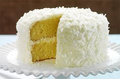 Easy coconut cake...use white cake instead of yellow!