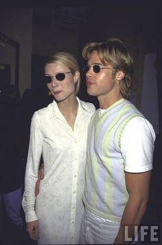 90's Gwyneth and Brad