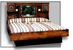 Best Waterbed Information Images On Pinterest Bed Furniture - Waterbed bedroom furniture