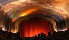 rockwell kent mural, cape cinema, 1930