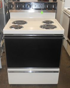Appliance City Ge 27 Quot Drop In Electric Range With Self
