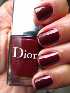 Dior Icone--love the deep dark red