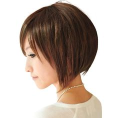 "Capless Short Bob High Quality Synthetic Brown Straight Hair, Wigs for Womwen by MAYSU. $17.85. Hair Texture:Short,top center heat-resistant synthetic fiber skin wig. Color Shown: (Color may vary by monitor.). Front to Back (cm (±2cm)):17,Top to Bottom(cm):20. Fiber: Synthetic, High Quality Synthetic Japanese Kanekalon. Cap Construction: Capless         Cap Size: Average--Fits average headsize (21.3""-22.8"" circumference). MORE DETAILS ABOUT WIGS PLEASE READING International &..."