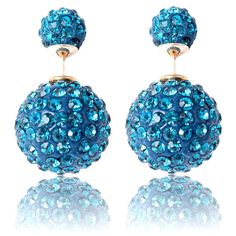 Trendy Mela Offers Beora Big Blue Double Pearls Fashion Earrings At Just Rs.549.We offer free shipping and Cash on Delivery (COD) all over the India.See more details & Offers at Trendymela.com