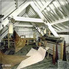 ...༻ ⚓️ ༺...☸...༻ ⊰⛵ ༺...Sail makers loft - With grateful thanks to Manx National Heritage for their assistance with copyright  text and images