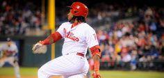 PHILADELPHIA -- Philadelphia Phillies third baseman Maikel Franco said jokingly Saturday night that his body was hurting. He had his…