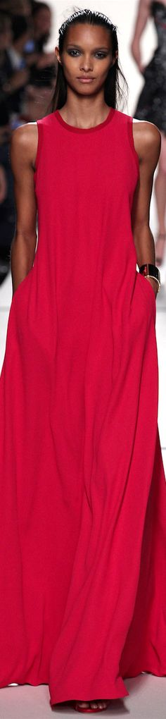 Elie Saab Spring 2014 Ready-To-Wear women fashion outfit clothing style apparel @roressclothes closet ideas