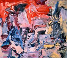 Willem de Kooning  Untitled IX, 1977  Oil on canvas  70x80 in