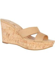 Nine West Womens Effie Wedge Sandals