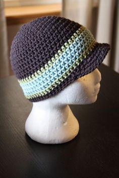 Newsboy Boy's Hat Pattern Etsy