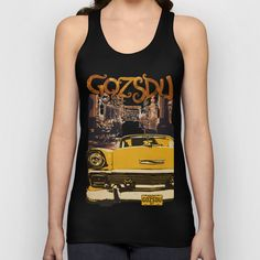 Retro design of Gozsdu Passage with a car Unisex Tank Top Shop: https://society6.com/product/retro-design-of-gozsdu-passage-with-a-car_tank-top#21=158 Design by András Balogh Ruin Pub District, Budapest retro design series
