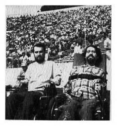 The Rolling Quads | The Rolling Quads, as they called themselves, were a group of severely disabled students attending the University of California at Berkeley whose advocacy helped to begin the Physically Disabled Students Program.  This was the first student-led disability advocacy group originating on a college campus.