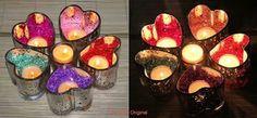 Teelichthalter Herzklopfen