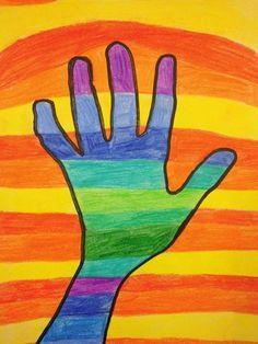 Colorful Art, Art Painting, Beginner Painting, Simple Art, Color Art Lessons, Art, Creative Drawing, Art Journal