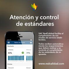 Sabías que Redcalidad: Calidad de servicio tiene un sistema de atención a clientes que se puede utilizar tan fácil como una aplicación móvil? Ingresa aquí para ver como funciona http://www.redcalidad.com/sem/sac #calidad #servicio