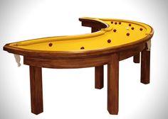 Banana Pool Table. #billard