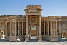 Roman theatre of Palmyra - Album on Imgur