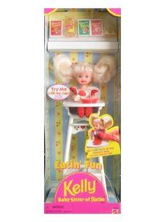 kelly dolls mattel   Mattel Barbie - Eatin' Fun KELLY Doll Playset (1997) - Product Reviews ...