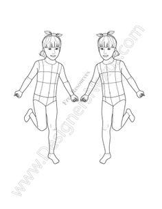 http://www.designersnexus.com/fashion-design-portfolio/v20-girls-kids-croquis-free-template/