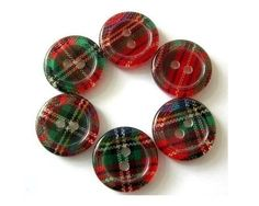 Tartan buttons: love tartan and all things Scottish or Irish Scottish Plaid, Scottish Tartans, Tweed, Button Art, Button Crafts, Backgrounds Wallpapers, Tartan Fashion, Women's Fashion, Celtic