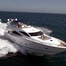 Sunseeker 82 motorboat in Dubrovnik, Croatia