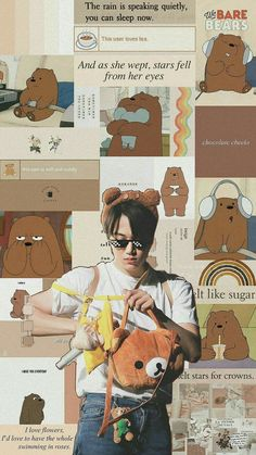 x-exo locks 🏁 We Bare Bears Wallpapers, Cute Wallpapers, Baekhyun Fanart, Chanyeol, Kpop Backgrounds, Wallpaper Backgrounds, Chen, Exo Stickers, Exo Album