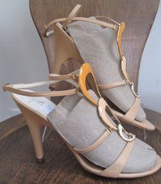 GIUSEPPE ZANOTTI sz 38 1/2, Jewelry 4 Your Feet, Peach Nude Flesh Orange, 8.5, on ebay $99