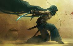 Desert Blue Assassin