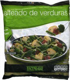 """Salteado de verduras congelado """"Hacendado""""  - Producto"""