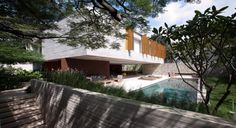 Ipês House by StudioMK27 | HomeDSGN, a daily source for inspiration and fresh ideas on interior design and home decoration.