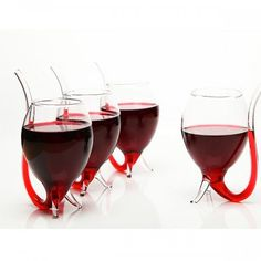 Vampire Glass( you can drink easily.Glass with glass pipette)     :)))