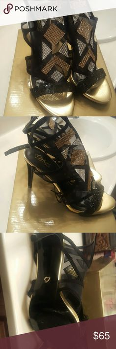 Thalia size 10 M 6inch heels worn once thalia Shoes Heels